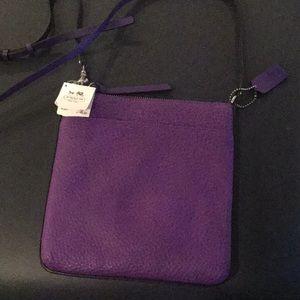 Coach Crossbody Purple - Never Used